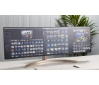49 inch LG 49WL95C-W, White/Black, Curved IPS, 5120x1440,60Hz,5ms