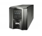 APC Smart-UPS 750VA/500 Watts, LCD, 230V, Black, line-interactive, PowerChute Business Edition, 6 IEC-320-C13 plugs, USB, RS-232, SmartSlot (optional RBC48 battery)