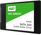 """2.5"""" SSD 240GB Western Digital WDS240G2G0A Green™, SATAIII, Sequential Reads: 545 MB/s, Sequential Writes: 465 MB/s, Max Random 4k: Read: 37,000 IOPS / Write: 68,000 IOPS, 7mm, Silicon Motion SM2258XT controller, 3D NAND TLC"""
