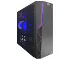 "ATOL PC1070MP - Gamer #4 v2: Intel Quad-Core i3-10100F 4C/8T 3.6-4.3GHz/ Asus H410M-K/ RAM 8GB DDR4 2666/ SSD 2.5"" Crucial BX500 480GB + 3.5"" HDD 2.0TB/ VGA Radeon RX560 4GB/ Case HPC P-02 ATX/ PSU 650W, OS Linux"