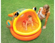 Бассейн LAZY FISH SHADE BABY POOL