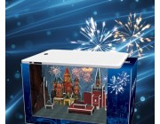 3D Пазл New Year's Eve-In Moscow
