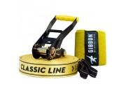 Слэклайн Gibbon Classic Line X13 - Tree Pro Set 15m 5cm, yellow, GBSLX1315TPSCL,