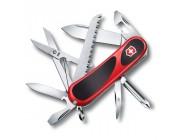 Нож Victorinox EvoGrip 18, 85 mm, red/black, 2.4913.C,