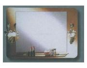 Зеркало ART SLT-102 with lamp L 21 70x50