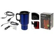 Чашка-термос 500ml, 19cm, USB 12V, нержавеющая сталь