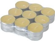 Свечи чайные ароматизированные 18 шт, цитронелла