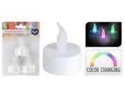 Набор свечей имитац чайных LED 3шт, 60ч