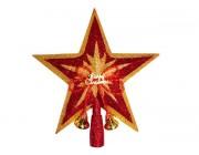 """Верхушка елочная """"звезда"""" большая 24cm"""