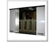 3D Зеркало (100) - H  2 пин - (белый) люкс