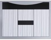 3D ШКАФ 186(80) H (Страйп)