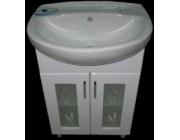 Мебель для ванной Аква (55) 2D SV (крашенный)