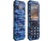 Мобильный телефон  Sigma mobile X-style Dragon/ BLUE CAMOUFLAGE RU