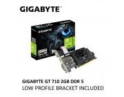 VGA Gigabyte GT710 2GB GDDR3 Low Profile  (GV-N710D3-2GL) //  GeForce® GT 710, 2GB DDR3, 64 bit