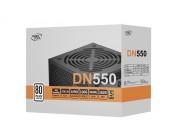 Power Supply ATX 550W Deepcool DN550, 80PLUS, Active PFC, 120mm silent fan, Retail