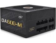 Power Supply ATX 600W Deepcool DA600-M, 80+ Bronze, Full Modular cable, Active PFC, 120mm fan