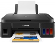 MFD Canon Pixma G2411 MFD A4,  Print, Copy, Scan Print Resolution: Up to 4800 x 1200 dpi Print Technology: 2 FINE Cartridges (Black and Colour), refillable ink tank printer Mono Print Speed:  Approx. 8.8 ipm Colour Print Speed: Approx. 5.0 ipm Photo
