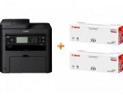 MFD Canon i-Sensys MF237w & CRG737 x 2 pcs Bundle with CRG737 x 2 pcs MFD A4, 23 ppm, Wi-Fi, Network, Fax, ADF 35 sheet Print, Copy, Scan and Fax Single sided: Up to 23 ppm (A4) Print quality: Up to 1200 x 1200 dpi Print Resolution: 600 x 600 dpi Pri