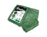 Тент защитн. тарпаулин. 90г/м2 GREEN 6* 10м (зеленый)
