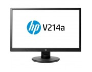 "20.7"" HP LED V214a Black (5ms, 5M:1, 200cd, 1920x1080, VGA, HDMI, VESA, 2*1W Speakers, Tilt: -5 to +11°)"