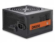 "PSU DEEPCOOL ""DN550 New version"", 550W, ATX 2.31, 80 PLUS®, Active PFC, 120mm fan with PWM, +12V (50A), 20+4 Pin, 1xEPS(4+4Pin), 5x SATA, 2xPCI-E(6+2pin), 3x Peripheral, MTBF100000Hours, CircuitShield™, Black"