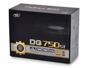 "PSU DEEPCOOL ""DQ750ST"", 750W, ATX 2.31, 80 PLUS® Gold, Active PFC, 120mm FDB Bearing fan with PWM, Double Layer EMI Filter, +12V (62A), 20+4 Pin, 1xEPS(4+4Pin), 5x SATA, 4xPCI-E(6+2pin), 3x Peripheral, MTBF120000Hours, Black"