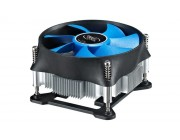 "DEEPCOOL Cooler ""Theta 15 PWM"", Socket 1150/1151/1155, up to 95W, 100x100x25mm, 800~2800rpm, <17.8~36dBA, 50.3CFM, 4pin, PWM, Hydro Bearing, Screw&Back Plate inst., Aluminium Heatsink (64pcs/box)"