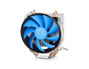 "DEEPCOOL COOLER ""GAMMAXX 300"", SOCKET 1366/1155/775 & FM1/AM3/AM2+, UP TO 130W, 120Х120Х25MM, 900~1600RPM, 17.8~21DBA, 55.5CFM, 4 PIN, PWM, HYDRO BEARING, 3 HEATPIPES DIRECT CONTACT -"