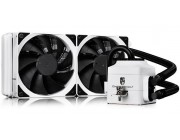 "DEEPCOOL Liquid Cooler  ""CAPTAIN 240 EX WHITE"", Socket 775/1150/1151/2011 & AM4/FM2/AM3, up to 220W, 2x TF120 fan:120х120х25mm, fans: 500~1800rpm, pump: 2200rpm, 17.6~31.3dBA, 153.04CFM, 4 pin, Hydro Bearing, Copper base"