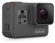 Action Camera GoPro HERO6 Black, Photo-Video Resolutions: 12MP/30-4K60/2,7K80/1080P240, slow-motion, waterproof without a housing down to 10m, voice commands, advanced image stabilzation, touch zoom, night photo modes, Battery 1220mAh, 117g