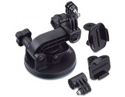 GoPro Suction Cup Mount - to attach GoPro to cars, boats, motorcycles and more, speed of 150+ mph, compatible with all GoPro cameras.