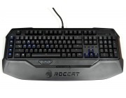 ROCCAT Ryos MK Pro / Mechanical Gaming Keyboard with Per-Key Illumination, Mechanical keys (Cherry® MX Brown key switch), Integrated media HUB (Audio in/out + 2xUSB2.0), 2x ARM CPU+memory, 500 programmable macros, EASY-SHIFT[+]™, USB