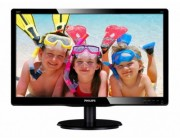 "18.5"" PHILIPS LED 193V5LSB2 Black (5ms, 10M:1, 200cd, 1366x768)"