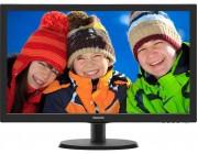 "21.5"" PHILIPS LED 223V5LHSB2 Black (5ms, 10M:1, 200cd, 1920x1080, HDMI, Headphone-Out)"