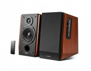 "Edifier R1700BT (Bluetooth) Wood, 2.0/ 66W (2x33W) RMS,  Audio in: Bluetooth & 2 analog (RCA), remote control, wooden, (4""+3/4"")"
