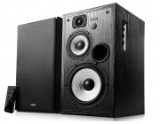 "Edifier R2730DB (Bluetooth) Black, 2.0/ 136W (2x68W) RMS, Three-amping, Hi-Fi, Audio in: Bluetooth, two digital (Optical, Coaxial) & two analog (RCA), remote control, wooden, (6.5""+4""+3/4"")"