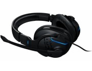 ROCCAT Khan AIMO / 7.1 High Resolution Sound RGB Gaming Headset, Noise-cancelling Microphone (rotatable), On-headset Remote, 50mm neodymium speaker units, 95° Rotatable Hinges, Intelligent illumination, Supreme comfort, USB 2.0, Black