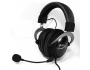 KINGSTON HyperX Cloud II Headset, Metal, Solid aluminium build, Microphone: detachable, USB Surround Sound 7.1, Frequency response: 15Hz–25,000 Hz, Cable length:1m+2m extension, 3.5 jack, Pure Hi-Fi capable, Braided cable, Mesh bag