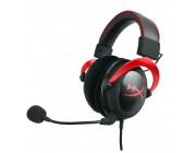 KINGSTON HyperX Cloud II Headset, Red, Solid aluminium build, Microphone: detachable, USB Surround Sound 7.1, Frequency response: 15Hz–25,000 Hz, Cable length:1m+2m extension, 3.5 jack, Pure Hi-Fi capable, Braided cable, Mesh bag