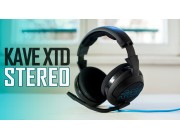 ROCCAT Kave XTD Stereo / Premium Stereo Gaming Headset, Noise-cancelling Microphone (rotatable & detachable), In-cable Remote, 50mm neodymium speaker units, Supreme comfort (high-comfort, low-weight design), 3.5mm jack, Black