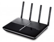 TP-LINK  Archer C2600   AC2600 Dual Band Wireless Gigabit Router, Atheros, 3T3R, 1733Mbps at 5Ghz + 800Mbps at 2.4Ghz, 802.11ac/a/b/g/n, 1 Gigabit WAN + 4 Gigabit LAN, Wireless On/Off and WPS button, 2xUSB 3.0, 4 detachable antennas