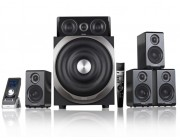 Edifier S760D  Black, 5.1/ 540W (240W+ 5x60W) RMS, (Dolby Digital, Dolby ProLogic II, DTS Digital decoders), Audio in: 4x digital (3xOptical +Coaxial) & 3 analog, Wired control with LCD display + Remote control