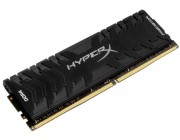 16GB DDR4-3000  Kingston HyperX® Predator DDR4, PC24000, CL15, 1.35V, Asymmetric BLACK low-profile heat spreader, Intel XMP Ready (Extreme Memory Profiles)