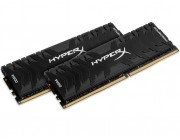 16GB (Kit of 2*8GB) DDR4-3000  Kingston HyperX® Predator DDR4, PC24000, CL15, 1.35V, BLACK heat spreader, Intel XMP Ready (Extreme Memory Profiles)