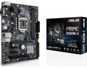 ASUS PRIME B360M-D, Socket 1151, Intel® B360 (8th Gen CPU), Dual 2xDDR4-2666, 1xPCIe X16, CPU Intel graphics, VGA, HDMI, 6xSATA3, 1xM.2 slot, 2xPCIe X1, 1xPCI, 1xCOM, ALC887 HDA, GbE LAN, 6xUSB3.1, mATX