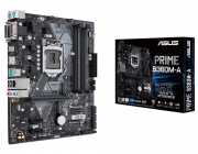 ASUS PRIME B360M-A, Socket 1151, Intel® B360 (8th Gen CPU), Dual 4xDDR4-2666, 1xPCIe X16, CPU Intel graphics, VGA, HDMI, DVI, 6xSATA3, 2xM.2 slot, 2xPCIe X1, ALC887 HDA, GbE LAN, 2xUSB3.1 Gen 2, 3xUSB3.1 (1xType-C & 2xType-A), mATX
