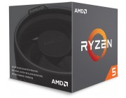 AMD Ryzen 5 2600, Socket AM4, 3.4-3.9GHz (6C/12T), 16MB L3, No Integrated GPU, 12nm 65W, Box (with Wraith Stealth Cooler)