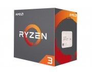 AMD Ryzen 3 3100, Socket AM4, 3.6-3.9GHz (4C/8T), 16MB L3, 7nm 65W, Unlocked, Box (with Wraith Stealth Cooler)