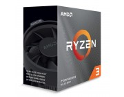 AMD Ryzen 3 3300X, Socket AM4, 3.8-4.3GHz (4C/8T), 16MB L3, 7nm 65W, Unlocked, Box (with Wraith Stealth Cooler)