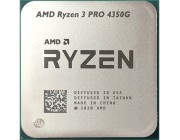 AMD Ryzen 3 PRO 4350G, Socket AM4, 3.8-4.0GHz (4C/8T), 4MB L3, Integrated Radeon Vega 6 Graphics, 7nm 65W, Bulk with Wraith Stealth Cooler